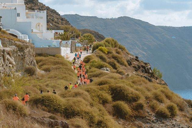 Trail Running@ Santorini Experience(photo byBabis