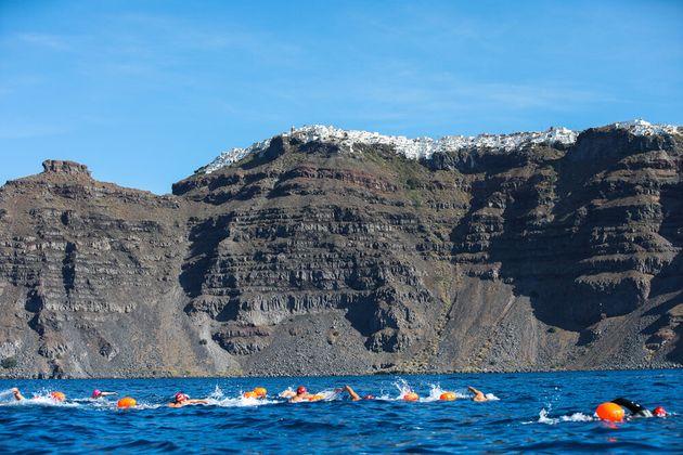 Open Water Swimming @ Santorini Experience(photo byDanijela