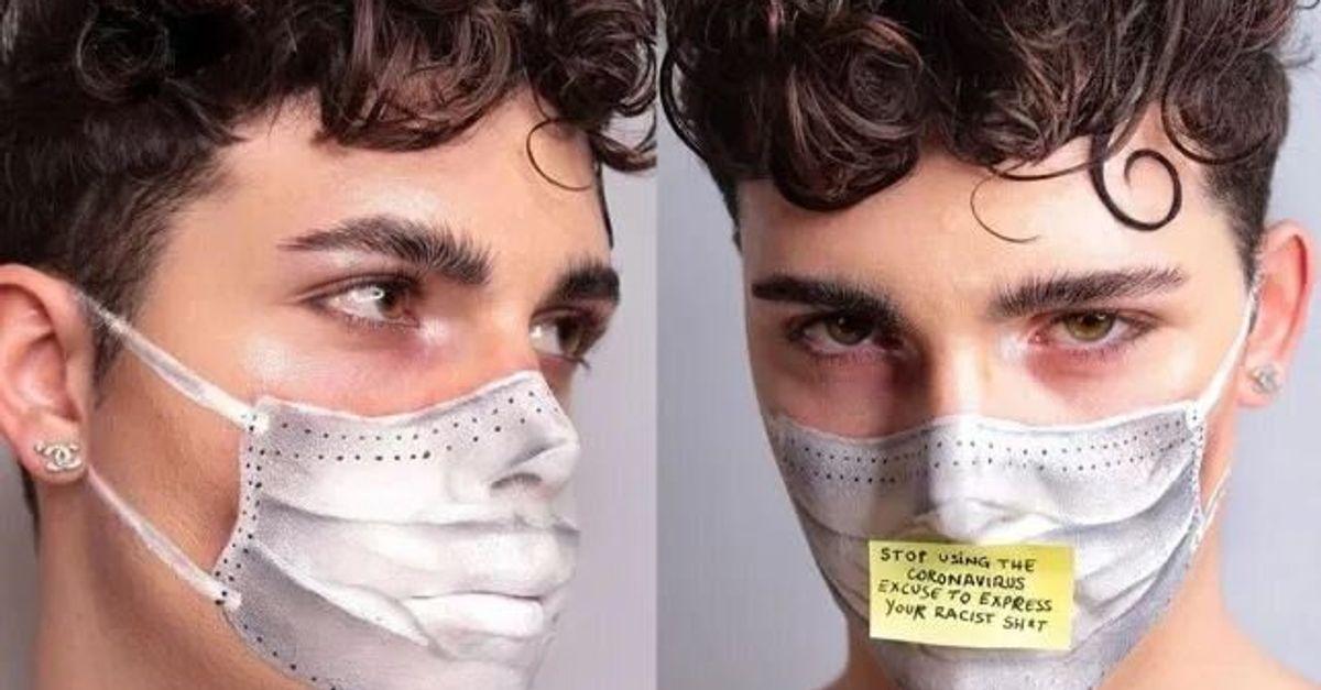 masque papier coronavirus