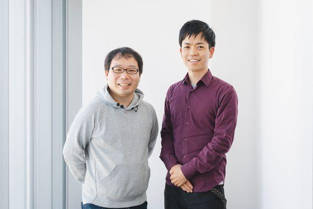 元リクルートで株式会社グラファーのCOOの井原真吾さん(左)と株式会社AntwayCEOの前島恵さん(右)