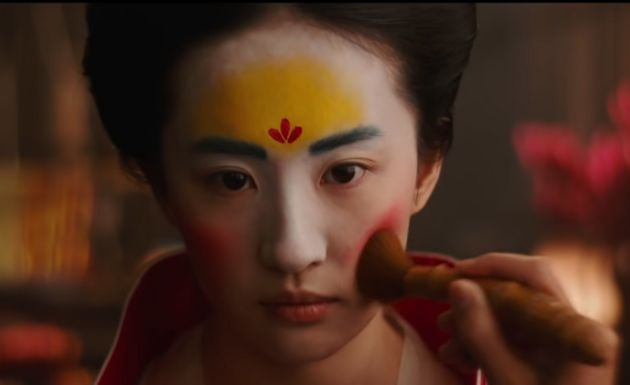 L'actrice Liu Yifei incarnant rôle de
