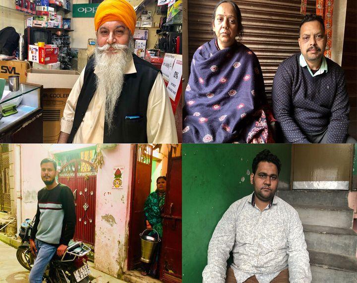 Mohinder Singh, Mamta and Dilip Singh, Ravi Parashar, and Mohammed Sarfaraz.