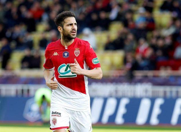 El futbolista Cesc