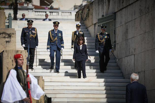 Υπό την σκιά του κορονοϊού η ιστορική ορκωμοσία της πρώτης Προέδρου της