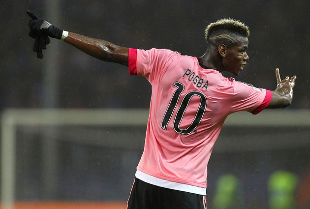 Paul Pogba sous le maillot de son ancien club, la Juventus de Turin le 10 janvier 2016 (photo
