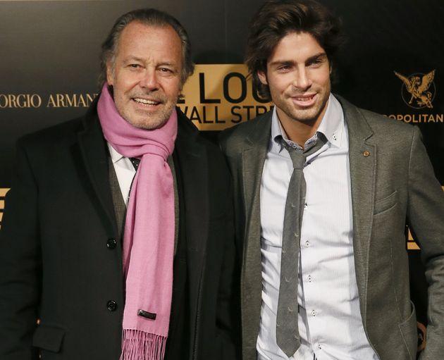 Tom Leeb et son père l'humoriste Michel