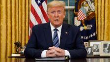 Λευκός Οίκος Λέει Ο Donald Trump Δοκιμές Αρνητικό Για Coronavirus