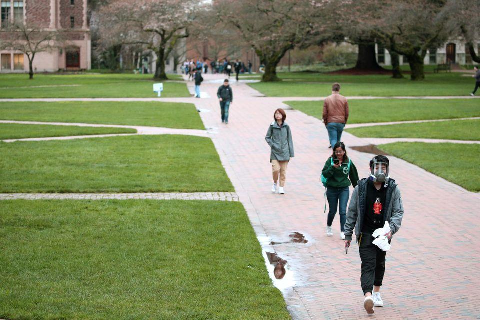 Des écoles de Seattle, dont l'université de Washington, ont été