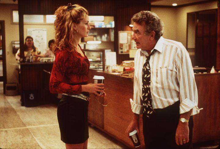 "Julia Roberts and Albert Finney in ""Erin Brockovich."""