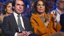 Los Aznar se refugian en Marbella del