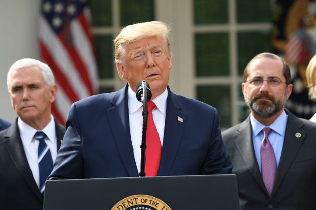 Com a emergência nacional declarada por Trump, um pacote de ajuda para limitar os danos econômicos...