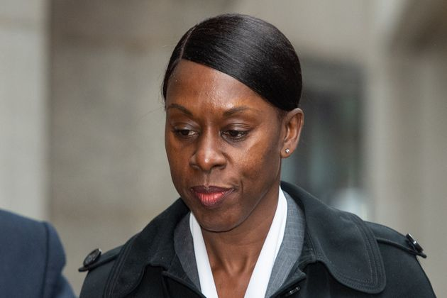 Metropolitan Police Superintendent Novlett Robyn Williams arrives at the Old Bailey in London, where...