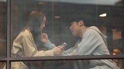 '공개 열애' 혜림과 신민철의 데이트 사진이
