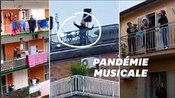 Coronavirus: les meilleurs chants sur les balcons des Italiens en