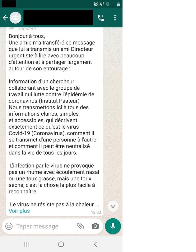 Contre les fake news sur le coronavirus, WhatsApp