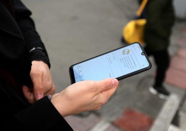 Plusieurs messages reçus sur de nombreux smartphones sont