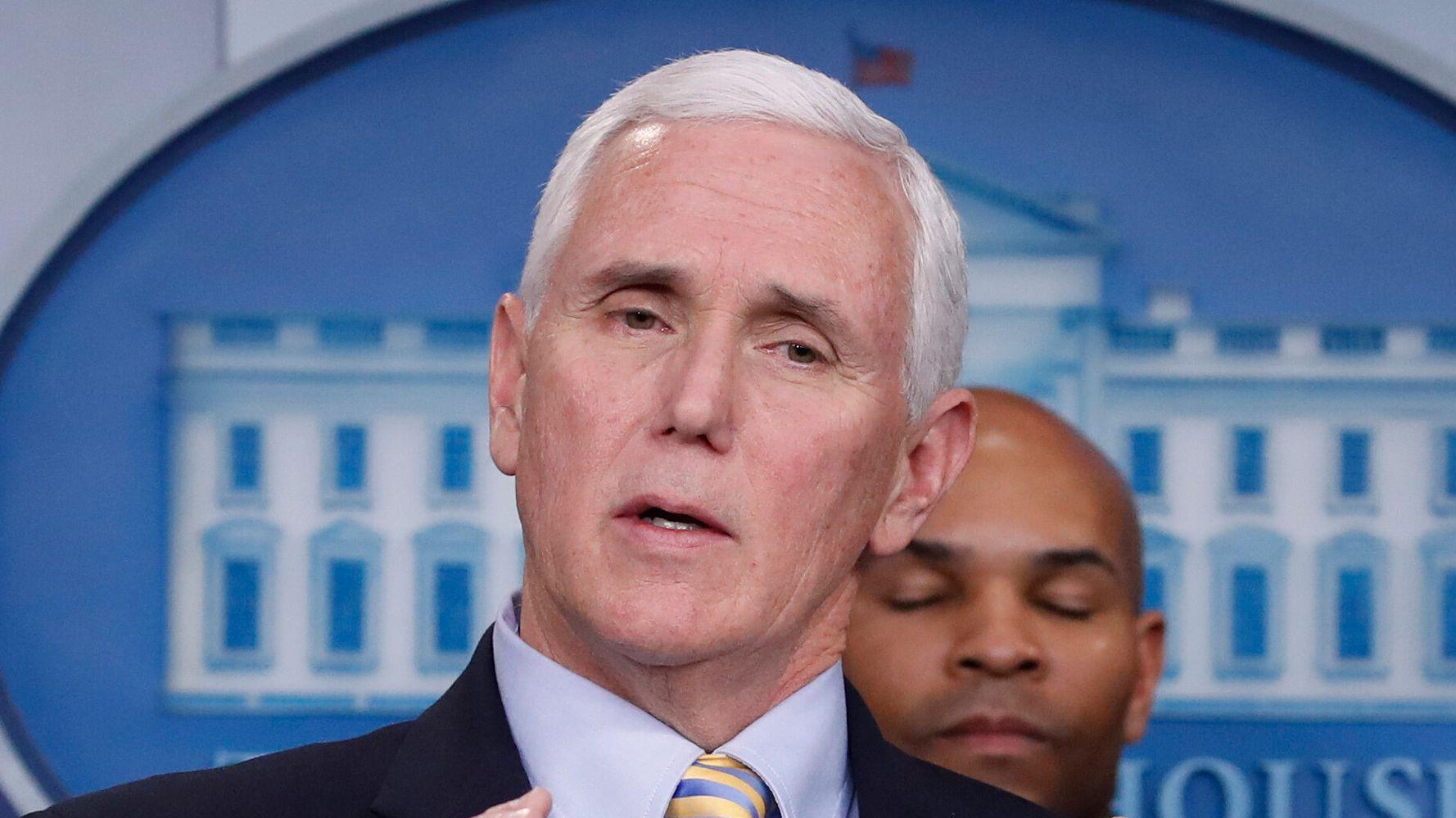 Mike Pence Scrambles After Google Contradicts Trump On Coronavirus Website