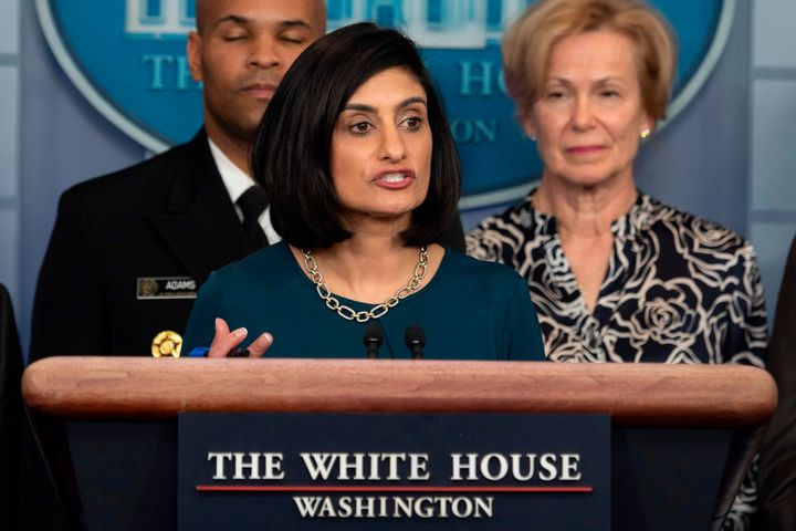 Seema Verma, chief administrator for Medicare and Medicaid, announced new nursing home guidelines designed to reduce the risk