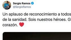 Sergio Ramos publica un vídeo del #aplausosanitario y todos se fijan en lo mismo: salta a la
