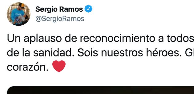 Tuit de Sergio