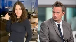 Courteney Cox Dances On TikTok And Matthew Perry Couldn't Be More