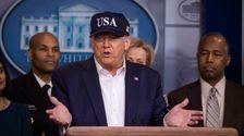 Trump Angeblich Sieht Auf Den Kopf, Um Coronavirus: Die Förderung Seiner Geschlossenen Grenzen Agenda