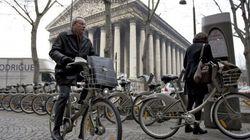 Las bicis en París toman el pulso de la campaña de las