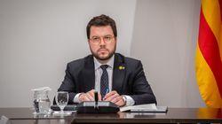 El vicepresidente catalán, Pere Aragonès, positivo por