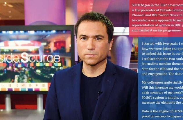 BBCでプロジェクトを創案したロス・アトキンスさん(プロジェクトのリポートより)