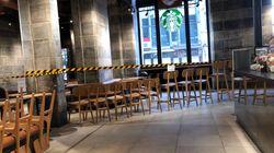 米スタバが、新型コロナ対策でイス撤去「持ち帰り専用」に。一部店舗は一時的な閉鎖へ