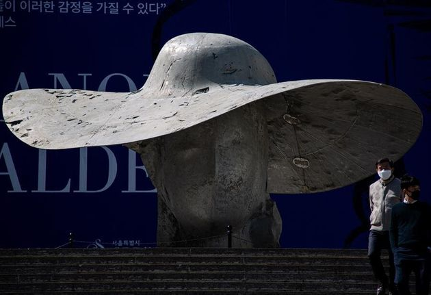Un ciudadano de Corea del