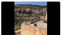 El tremendo enfado de una vecina de Huesca con unos turistas: