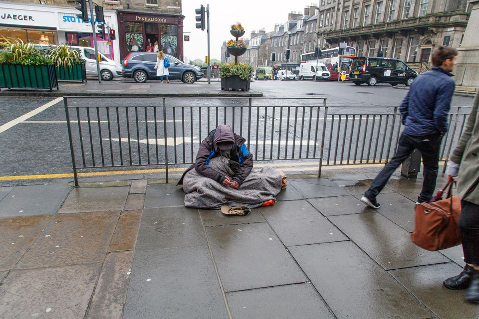 Homeless People Can't Self-Isolate And May Have To Stay On The Streets During Covid-19
