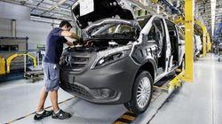 Mercedes paraliza su fábrica en Vitoria por el