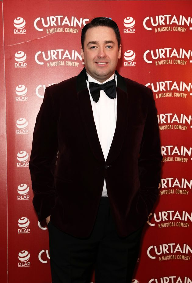 Jason at the Curtains press launch in December last