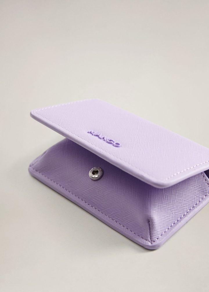 Saffiano-Effect Wallet, Mango, £9.99