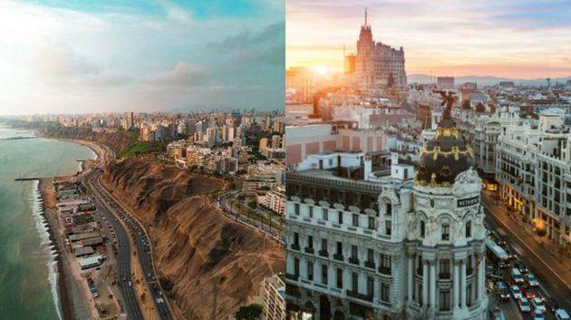 Lima (izquierda) y