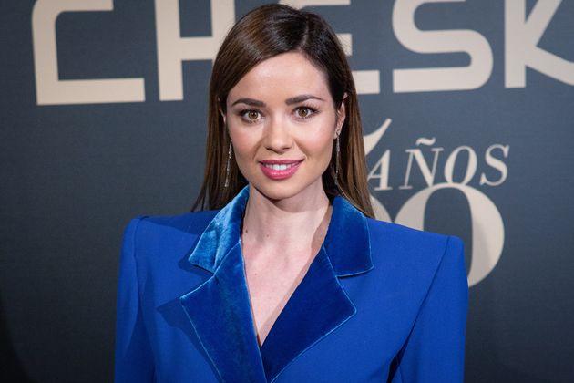 La actriz Dafne Fernández, en un evento en Madrid el 5 de marzo de