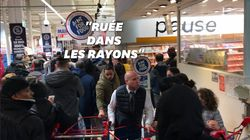 L'appel à ne pas se ruer dans les supermarchés a du mal à