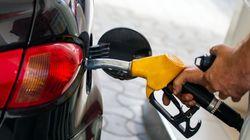 Les prix de l'essence à la