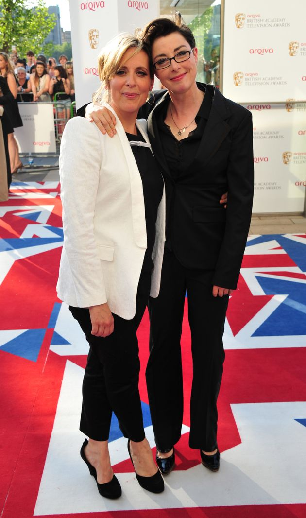(L-R) Mel Giedroyc and Sue