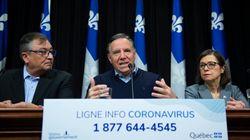 Coronavirus et gestion de crise: Legault buteur, Trudeau sur le