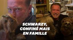Schwarzy donne ses conseils contre le coronavirus... en bonne