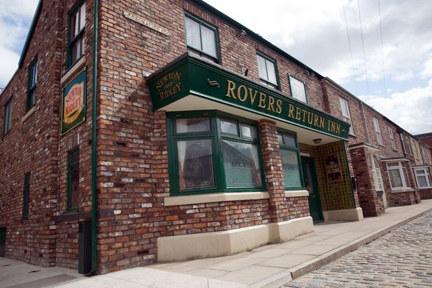 The iconic Rovers Return