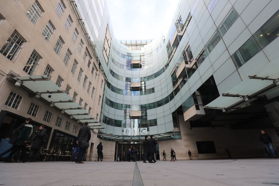 New BBC Broadcasting House in London