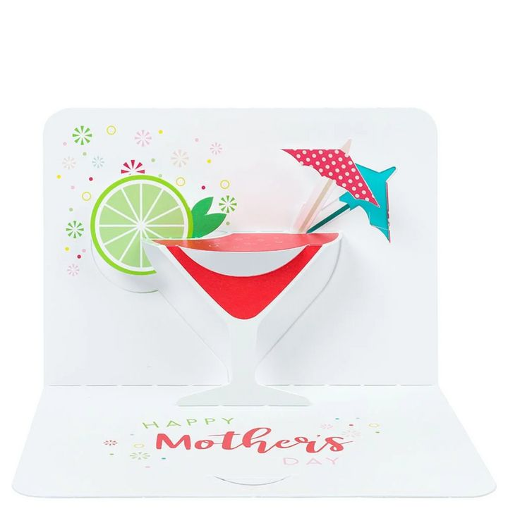 Pop Up Cocktail Mother's Day Card, Paperchase, £4