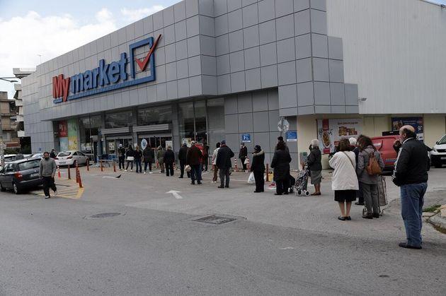 Κορονοϊός: Νέο ωράριο στα σούπερ μάρκετ - Ανοιχτά και τις