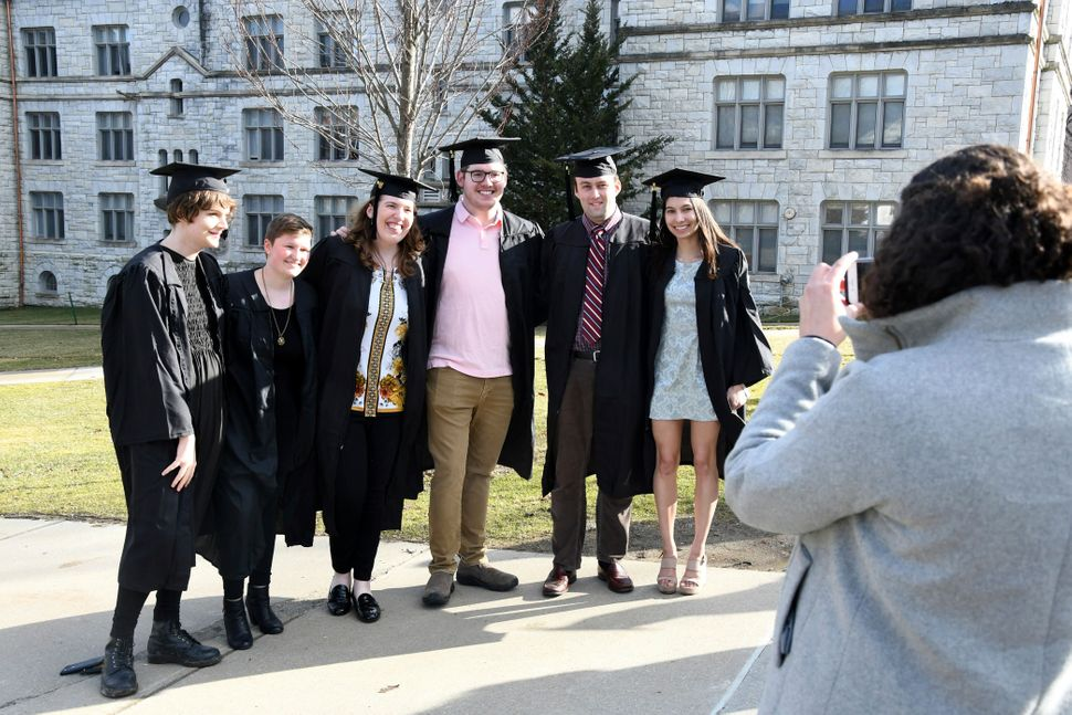 With the end of face-to-face classes and with remote learning to begin on April 6, some Williams College seniors spent last F