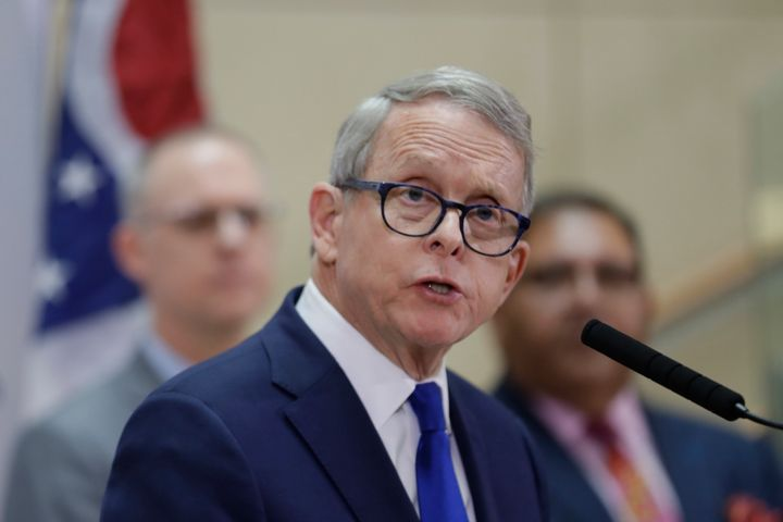 Ohio Gov. Mike DeWine said Monday that he wants to postpone his state's primary election that was scheduled for Tuesday.