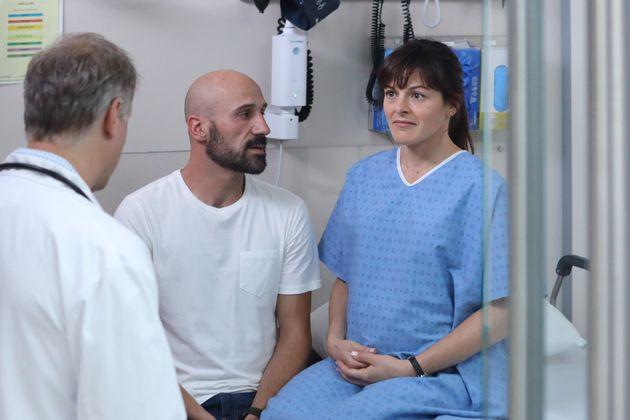 Jean-Moïse Martin et Sophie Cadieux dans «Lâcher